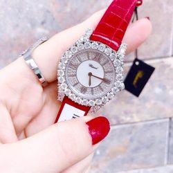 đồng hồ Chopardd diamond nữ màu đỏ giá sỉ
