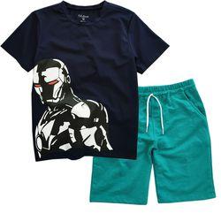 BÔ ĐẠI IRONMAN TEO Kids BÉ TRAI BBT-2767G-97 Bán buôn quần áo trẻ em giá sỉ