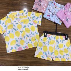 Bộ Pijama BG S1-8y QA192 giá sỉ
