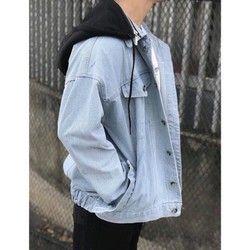 Áo khoác jean nam sỉ thời trang giá sỉ