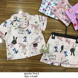 Bộ Pijama BG S1-8y QA194 giá sỉ