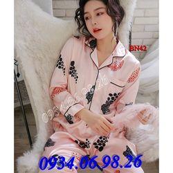 Bộ ngủ nữ Pijama dài tay BN42KE - giá sỉ tốt nhất thị trường giá sỉ