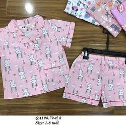 Bộ Pijama BG S1-8y QA196 giá sỉ