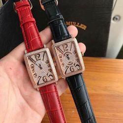 đồng hồ fm dây da