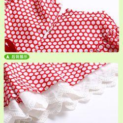 Váy chấm bi chất thô 100 cotton giá sỉ, giá bán buôn