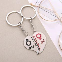 móc khóa inox cặp đôi giá sỉ 16k 1 cặp 2 cái khuyến mãi thêm 1 vòng đeo tay màu đỏ kèm mặt đồng xu kim loại giá sỉ