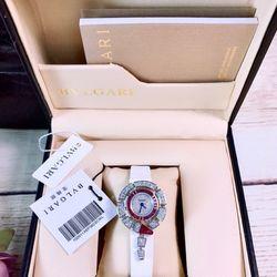 Đồng hồ nữ BVLagii trắng giá sỉ