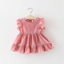 Váy cánh tiên đuôi cá mềm mát mịn xịn sò Váy thêu hoa hồng xinh xắn giá sỉ