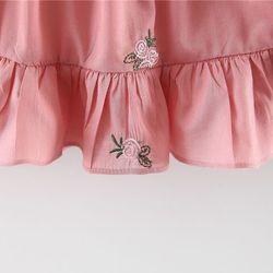 Váy cánh tiên đuôi cá mềm mát mịn xịn sò Váy thêu hoa hồng xinh xắn giá sỉ, giá bán buôn