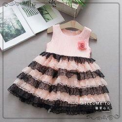 Váy công chúa đính hoa thiết kế sang chảnh giá sỉ