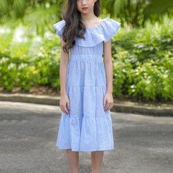 Váy maxi bèo ngực điệu đà giá sỉ, giá bán buôn