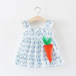 Váy cánh tiên 2 dây điệu đà cho bé gái giá sỉ
