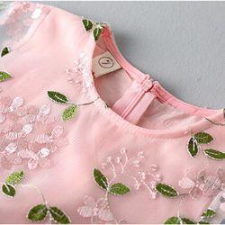 Váy voan lưới thêu hoa nổi bật giá sỉ, giá bán buôn