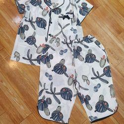Pijama - Đồ bộ mặc nhà lụa mát mịn không nhăn HT lững giá sỉ