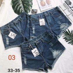 Quần Short Jean Nữ 2 màu đậm và nhạt size đại giá sỉ