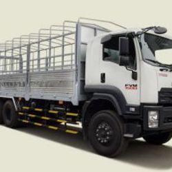 Xe tải Isuzu 15 tấn thùng mui bạt - Fvm34te4 thùng dài 7m66 1tỉ670 giá sỉ