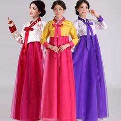 Hanbok Hàn Quốc voan lưới giá sỉ