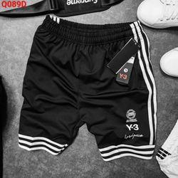 Quần shorts Y-3 thun lưới mè giá sỉ