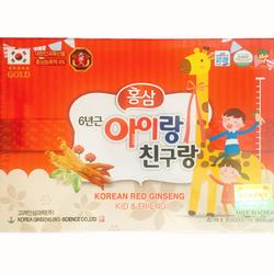 Nước hồng sâm cho trẻ em hươu cao cổ Bio Hàn Quốc giá sỉ