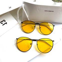 đẹp quá đi mất kính thời trang màu vàng xuyên đem màu nâu giá sỉ