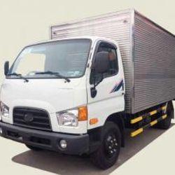 Xe tải Hyundai 6T9 thùng mui kín - New Mighty 110S 730tr lăn bánh giá sỉ