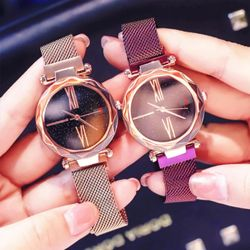 Đồng hồ nữ Ulzzang dây nam châm sang trọng giá sỉ