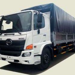 Xe tải Hino 8T8 thùng mui bạt - FG8JPSB thùng 7m2 260tr giao xe ngay giá sỉ