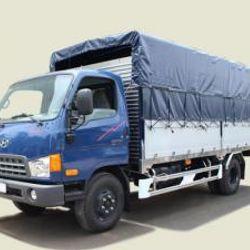 Xe tải Hyundai 6T9 thùng mui bạt Mighty HD700 thùng dài 5m giao xe 673tr giá sỉ
