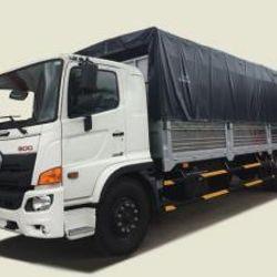 Xe tải Hino 8T4 thùng mui bạt - FG8JT7A thùng 7m93 giá sỉ
