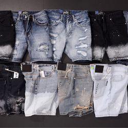 SHORT JEAN cotton 100 giá sỉ