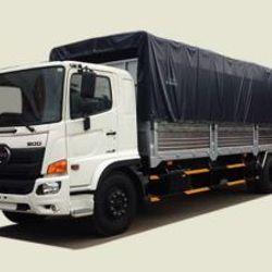 Xe tải Hino 8T2 thùng bạt - FG8JP7A thùng 7m2 1 tỉ 385 lăn bánh