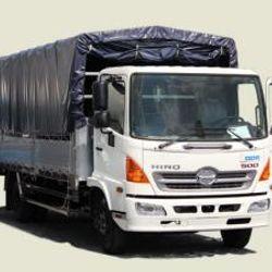 Xe Tải Hino 6 Tấn Thùng Mui Bạt - FC9JJTA thùng 5m7 180tr nhận xe