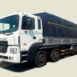 Xe tải Hyundai 5 chân 21T5 thùng mui bạt - HD360 thùng 9m7 2 tỉ 250 giá sỉ