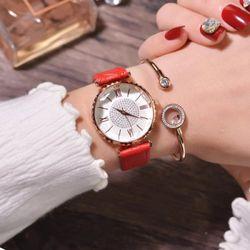 Đồng hồ nữ Gogoey mặt đính đá siêu xinh giá sỉ