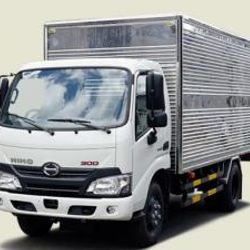Xe tải Hino 1T8 thùng kín - XZU650L 685 triệu lăn bánh xe giao ngay giá sỉ