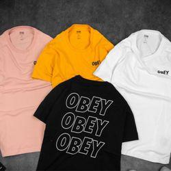 Áo cotton 4c Obey thời trang nam giá sỉ, giá bán buôn