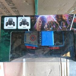 Đồ chơi trẻ em xe điều khiển Avengers giá sỉ