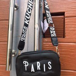 Túi đeo chéo hộp in chữ Paris giá sỉ, giá bán buôn