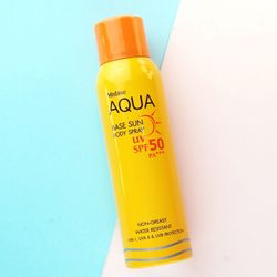 Kem Chống Nắng Dạng Xịt AQUA BASE SUN BODY SPRAY MISTINE UV Spf 50 giá sỉ