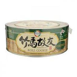 bánh cuộn hàn quốc vị dừa coconut 365g