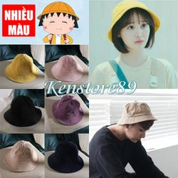 Full màu Nón Mũ Maruko Rộng Vành - Bucket Hat Nam Nữ