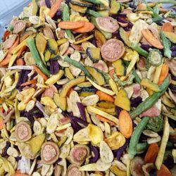 Trái cây sấy thập cẩm 7 vị 10 vị chuẩn giá sỉ