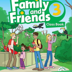 Family and Friends 3 - Class Book Work Book giá sỉ
