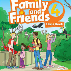 Family and Friends 4 - Class Book Work Book giá sỉ