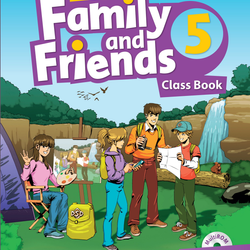 Family and Friends 5 - Class Book Work Book giá sỉ