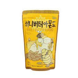 hạt hạnh nhân tẩm bơ mật ong hàn quốc tom s farm 210
