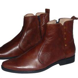 Giày boot nam da bò thật Bảo hành 12 tháng giá sỉ