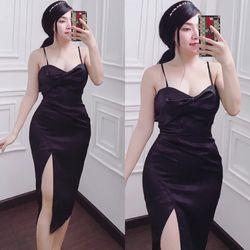 Váy body lụa giá sỉ