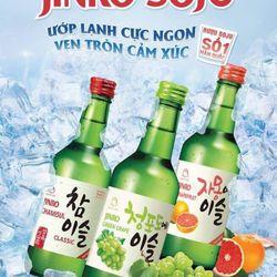 Rượu Soju hoa quả hàn quốc giá sỉ