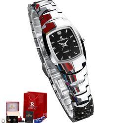 Đồng hồ nữ Ontheedge dây đá RZY05 fullbox trắng-đen giá sỉ